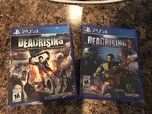 Dead Rising 1&2 for PS4 brand new still sealed