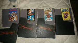 All 4 NES games 75$