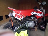 welsh pit bike 110cc