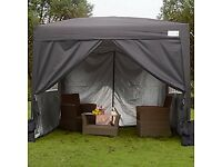 4 x side panels and roof for 3x3 gazebo