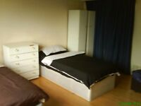 Large double room for two friends share. 1 week deposit. All bills included. Fast internet