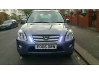 Honda CRV 2006 AUTOMATIC METALLIC GREY SR EXECUTIVE LEATHER SEATS 117K