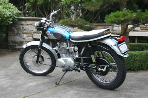 Triumph Bonneville from 1960-1969