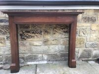 Lovely fire surround
