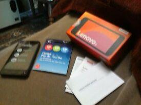 Brand New Lenovo B mobile phone with O2 sim with £10 top up.