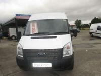 2012 Ford Transit 2.2TDCi ( 100PS ) ( EU5 ) ( RWD ) 350M Med Roof Van 350 MWB