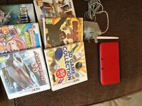 Nintendo 3ds xl and games boxed