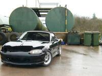 1998 1.8 6spd rs mk2 mazda roadster fully modded jap import - not uk regged mx-5 mx5 eunos roadster