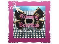 Handmade Hair Bow - Romany Bowtique