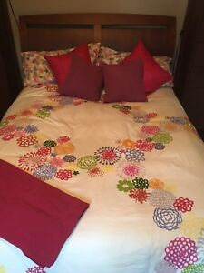 Bed set with mattress and box spring!! MUST GO!
