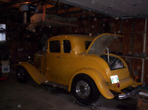 WANTED 1932 Ford 5 Window Coupe