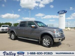 LOW KMS, LOADED w EXTRAS & SUPER CLEAN! 2014 Ford F-150 Lariat