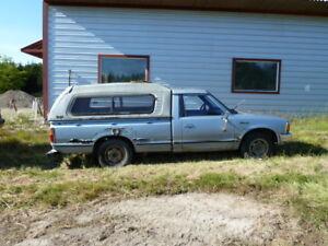 RARE. 1984 Nissan Datsun Diesel Pickup Truck