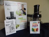 Fusion Juicer by Jason Vale ideal for making your healthy Summer Smoothies and Drinks easily.