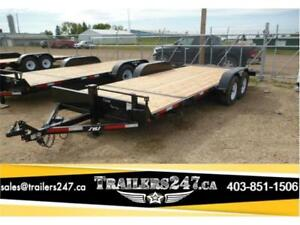 NEW--->--->20FT 3/4 TILT TRAILER by SWS ----->---->FIR DECKING