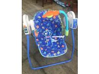 Fisher price baby chair swing