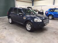 2008 Land Rover freelander td4 se sat nav sunroof leather sunroof guaranteed cheapest in country