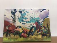 Bicycle Paintings (single or as a pair)