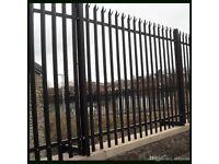 2.4m Palisade Fence Panels