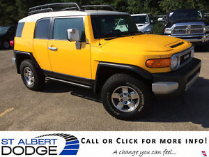 2010 Toyota FJ Cruiser BASE | 4.0L V6 | 4X4 | HEAT LEATHER | BAC