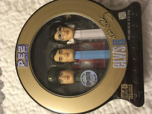 Elvis Presley's Pez with Cd. Never open. In mint condition