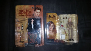 Buffy the vampire slayer figures!