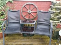 JACK AND JILL 2 SEATER SEAT AND TABKE