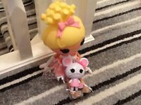 Lalaloopsy Doll and Mouse