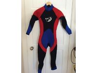 Job lot of wet suits and bouancy aids