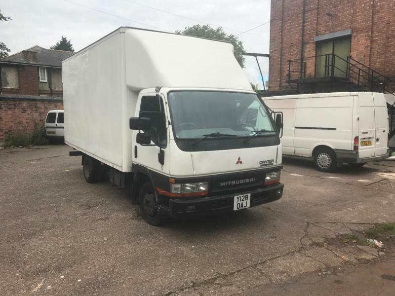 Mitsubishi Canter Box Van