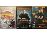 Back to the future trilogy and Bourne 1 and 2