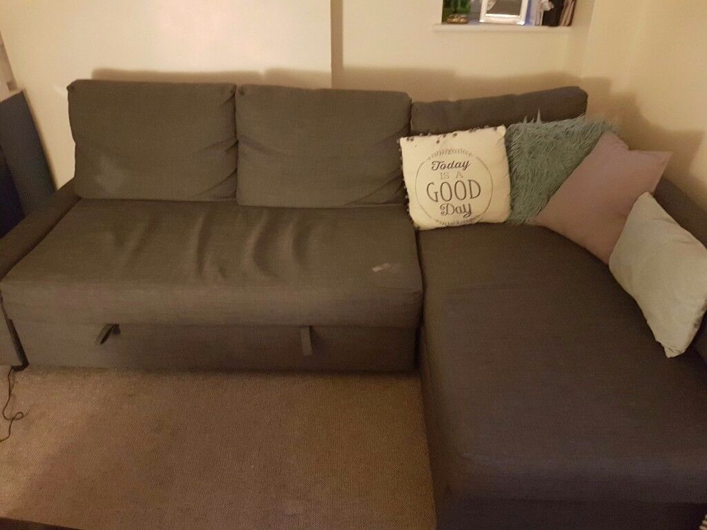 Corner Sofa with storage space