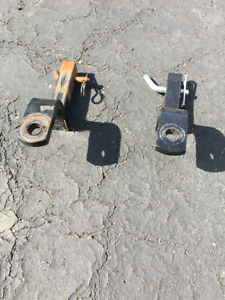 Trailer Hitch - 1 1/4 inch shaft, heavy duty with locking pin.