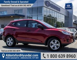 2012 Hyundai Tucson GL ONE OWNER & CERTIFIED ACCIDENT FREE
