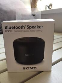 sony wireless bluetooth speaker