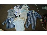 Brand new 0-3months baby clothes