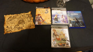 Mix of Sony Playstation RPGS