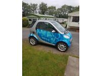smart car for 2 city coupe 12months mot imaculate cond