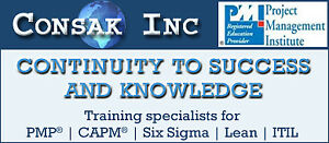 CONSAK OFFERS BEST PMP AND OTHER MANAGEMENT COURSES