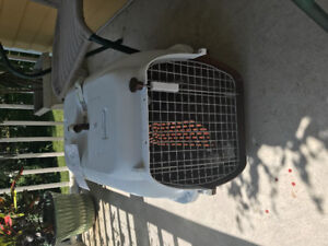 Med size dog cage bought for air transport