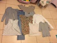 Bundle of ladies clothes 12. Tops jumpers jeans camis long and short sleeve