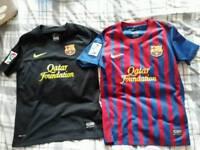 Barcelona football shirts kids