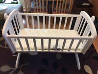 John Lewis baby crib