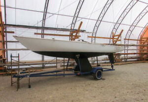 Soling 27' One Design with Trailer