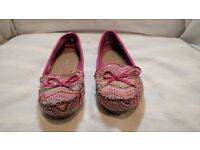 Colourful Paprika Flat Shoes Size 5