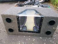 Bassbox and amp alpine