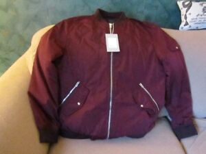Lightweight Bomber Jacket, Zara Trafaluc Outerwear, Ladies S