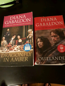Outlander Books 1st and 2nd in the series