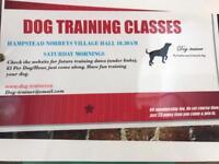 Dog Trainer and Behaviourist