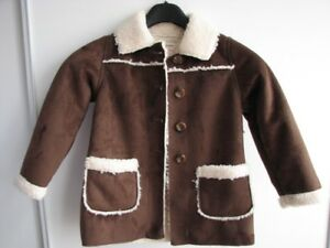 Old Navy brown swede jacket